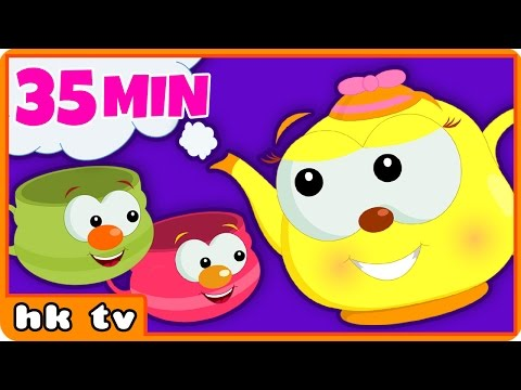 I'm A Little Teapot | Best Nursery Rhymes Collection for Children by Hooplakidz TV
