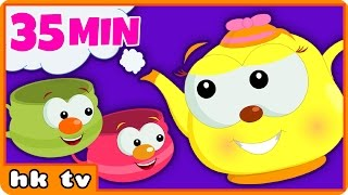 I'm A Little Teapot | Nursery Rhymes | BEST Nursery Rhymes Collection For Children by HooplakidzTV