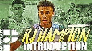 Rj hampton player intro! top guard in 2020!?