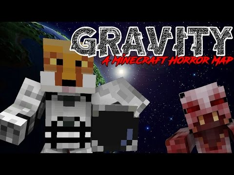 MINECRAFT IN SPACE -|- GRAVITY -|- MINECRAFT HORROR ADVENTUR
