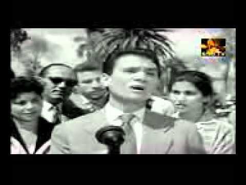 عبدالحليم حافظ   بحلم بيك   من فيلم حكاية حب عام 1959م   YouTube
