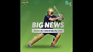 Shane Watson's return to Pakistan on cards