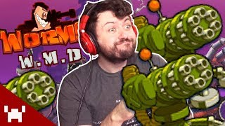 WHEN IN DOUBT, TURRETS OUT! | Worms WMD w/ Friends