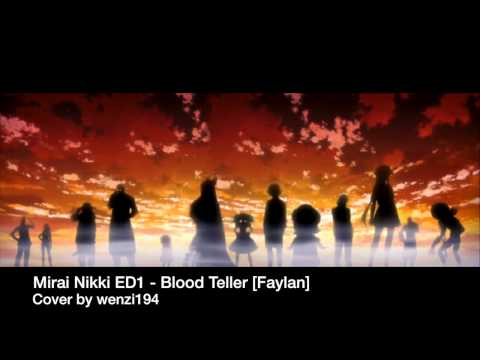 Mirai Nikki ED1 - Blood Teller Cover (TV size) Thank you for 500 subs! :'D
