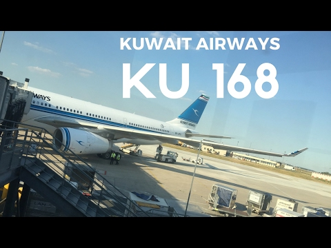 Kuwait Airways A330-243 CDG-KWI  ━ Night Landing at Kuwait International Airport