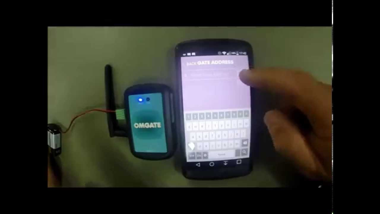 Omgate Bluetooth Gate Garage Door Opener Youtube