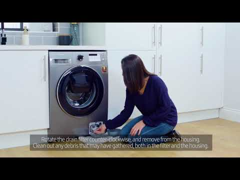 Samsung Washing Machine | How To: Check the Drain Pump Filter