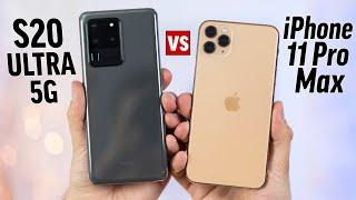 Galaxy S20 Ultra vs iPhone 11 Pro Max - Full Comparison!