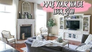 MAKE YOUR HOUSE LOOK RICH ON A BUDGET HAUL