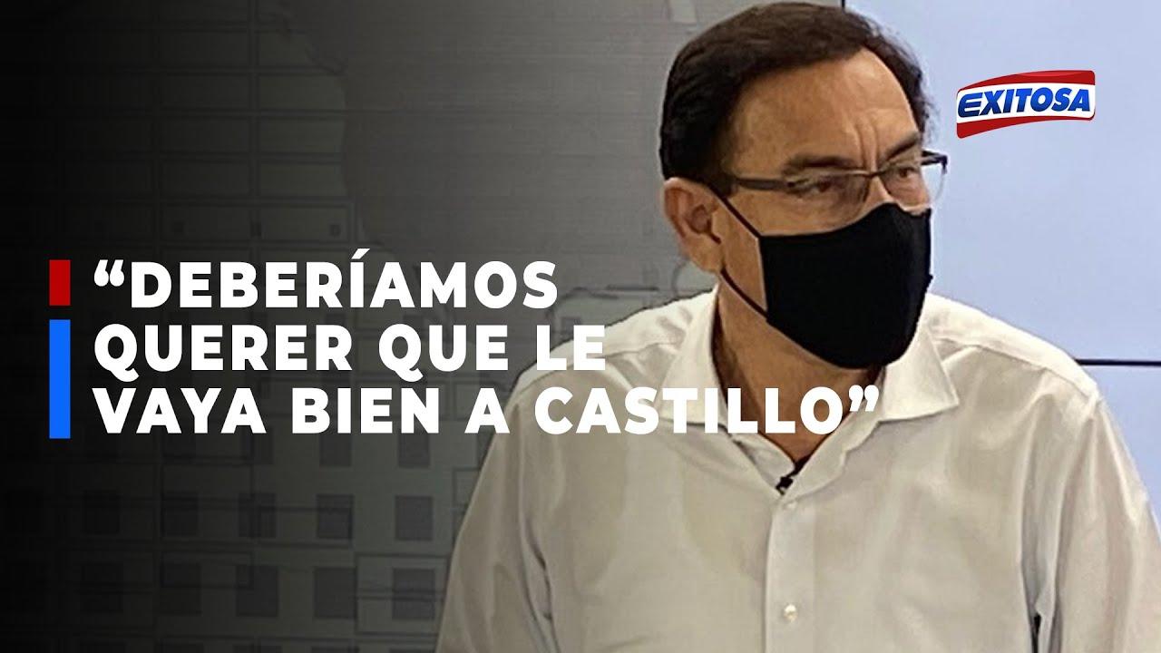 """Download 🔴🔵Martín Vizcarra: """"Como peruanos, deberíamos querer que le vaya bien a Pedro Castillo"""""""
