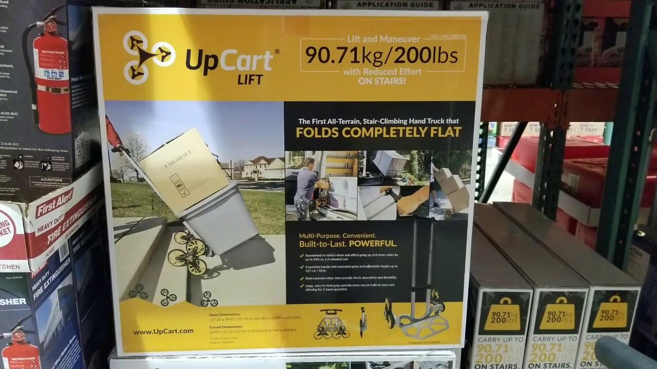Costco Upcart Stair Climbing Folding Cart 200 Lb 79