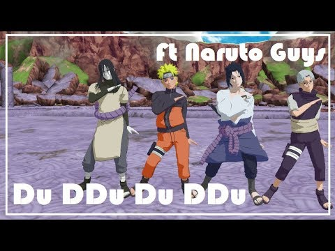 【MMD】Du Ddu Du Ddu ft.Naruto guys (Motion DL)