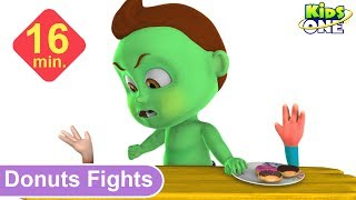 BABY HULK Fights for DONUTS | Best Funny Pranks for Kids - KidsOne