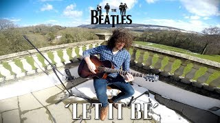 Let It Be - The Beatles - Acoustic Guitar Cover (Country Version)