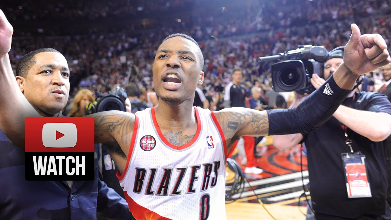 Damian Lillard Full Highlights Vs Rockets 2014 Playoffs