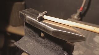 Как сделать наковальню из рельса / How to make Anvil from rail