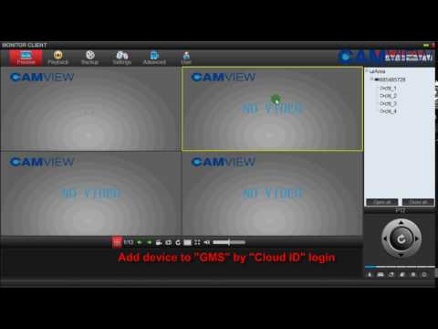 Repeat THZ80P Mobile RxCamView Network Setting Instructions