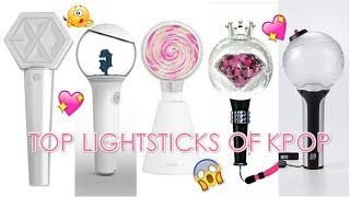 Top Lightsticks of Kpop Fandom (TWICE, BLACKPINK, BTS, EXO, GFRIEND...)