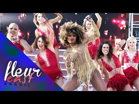 Fleur East - Sax (Live at Dancing With The Stars) [Higher Quality]