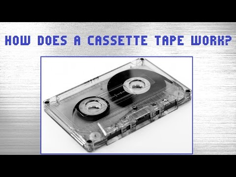 How does a cassette tape work?