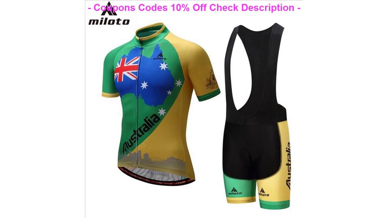 MILOTO Cycling Jersey Bicycle Jersey Cycling Clothing Bike shirt top Sportswear