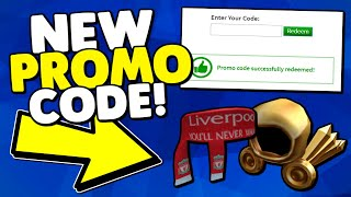 ROBLOX PROMO CODES 2019!! - (New Free Item) | *Working July 2019*
