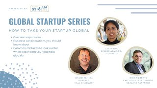 TSL Global Startup Series: How To Take Your Startup Global
