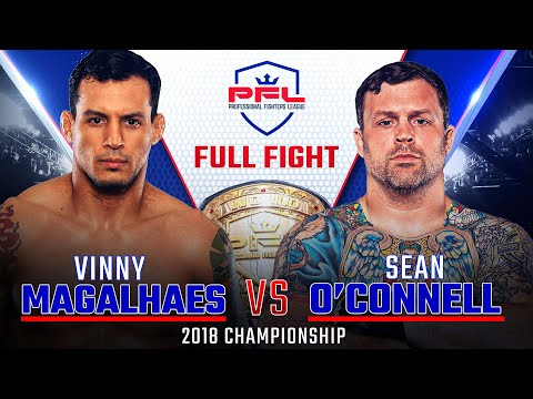 2018 PFL Light Heavyweight Championship: Vinny Magalhaes vs. Sean O'Connell