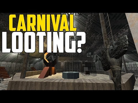 CARNIVAL L00TING?! - 7 Days to Die: War of the Walkers #3