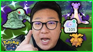 I CHALLENGED 100 TEAM ROCKET LEADERS IN A DAY AND I'M FINALLY DONE!! - POKEMON GO