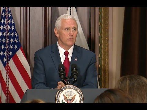 VP Pence Praises Trump At Student Leadership Conference-Full Speech (Audio Only)