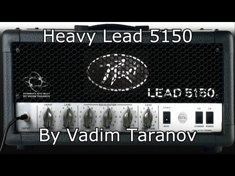 Heavy Lead 5150 By Vadim Taranov - Virtual High Gain Amp - Metal Tone Test (Free Vst Plugin)