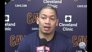 Tyronn Lue On The Teams Mood And Mindset | Pacers vs Cavaliers | April 17,2018