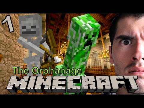 TERROR EN MINECRAFT | Minecraft: The Orphanage (1) - JuegaGerman