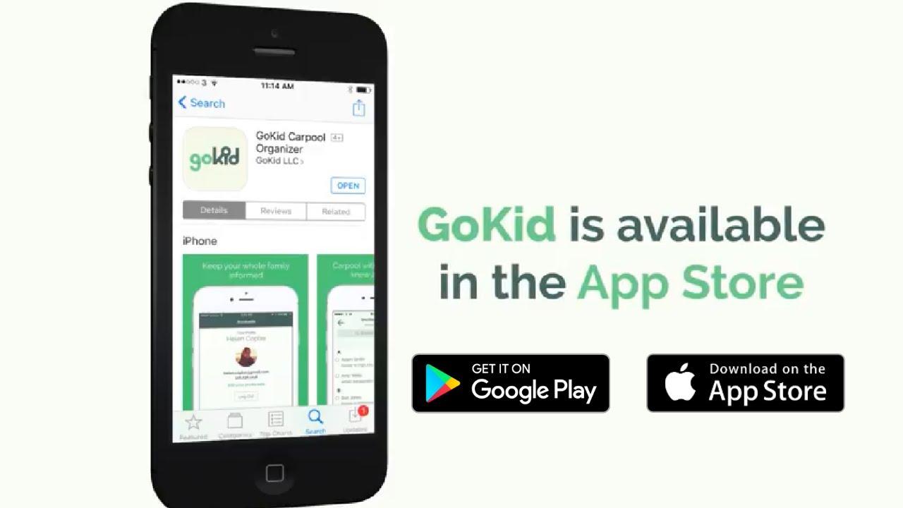 GoKid - Carpool For Kids | Free App For School Kids | School Transportation  | Carpool Solutions