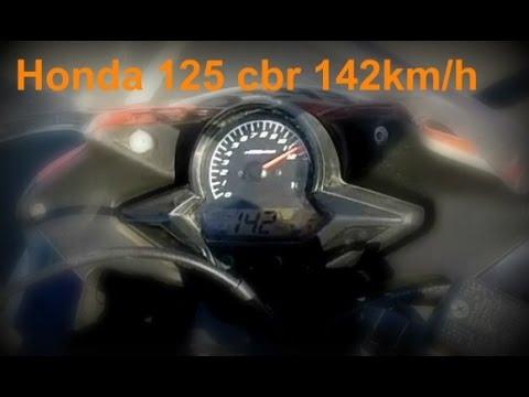 nouvelle vitesse max new top speed honda cbr 125 r full power 142km h youtube. Black Bedroom Furniture Sets. Home Design Ideas