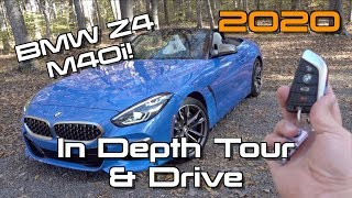 2020 BMW Z4 M40i: Start Up, Test Drive & In Depth Tour