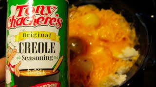 Halibut Recipe Cooking With Tony Chachere's Original Creole Seasoning