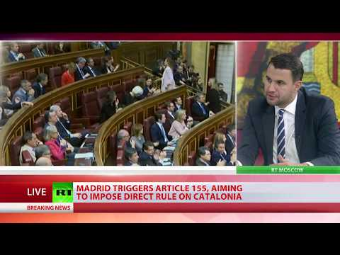 Independent Catalonia: Spanish PM appeals to Senate to seize Catalonia & dismiss leader