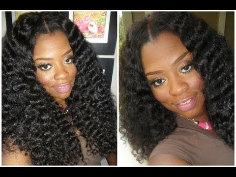 Yummy Deep Curly Hair Two Week Review YouTube