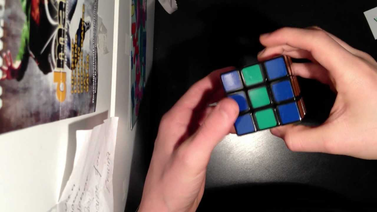 rubik 39 s cube comment faire un damier youtube. Black Bedroom Furniture Sets. Home Design Ideas