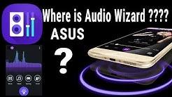 Where is Audio Wizard | ASUS Audio wizard | Asus | Music | Asus update
