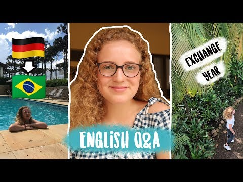Afraid of 🇩🇪? Most EMBARRASSING moment in EXCHANGE? 🇧🇷 English Q&A ♥︎ Leonie4ever