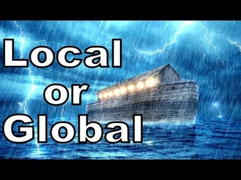 Noah's Flood Myth,  Global or Local? Truth is in the Language!