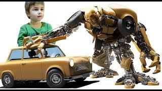 НОВЫЕ роботы Трансформеры - ТРИТАН игрушка ТОБОТ Мультик тоботы трансформеры #MrGeor