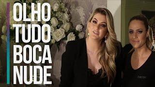 OLHOS MARCANTES E BOCA NUDE COM PRODUTOS PAYOT