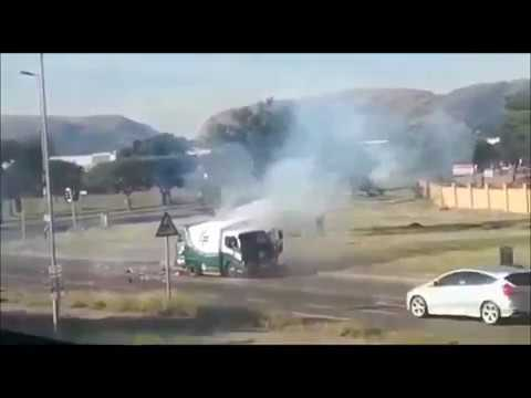 Money Truck Bombed, Wild Shooting in Cash-in-Transit Heist Pretoria