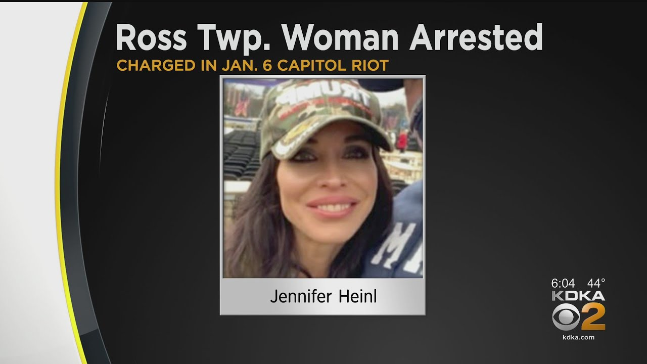 Ross Township Woman Arrested For Allegedly Storming Capitol