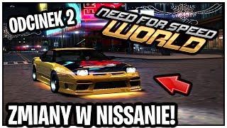 NFS World Online - Zmiany w Nissanie :D #02