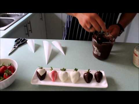 'How To' : Choc Dipped Strawberries